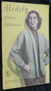 náhled knihy - Modely pletené, háčkované č. 3/32