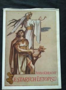 náhled knihy - Ze starých letopisů (A4, Ocpl, 98 s., il. A. Zábranský, typo M. Hegar)