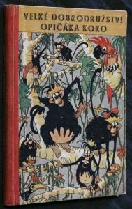 náhled knihy - Velké dobrodružství opičáka Koko