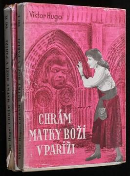 náhled knihy - Chrám Matky Boží v Paříži, 1.-2. díl