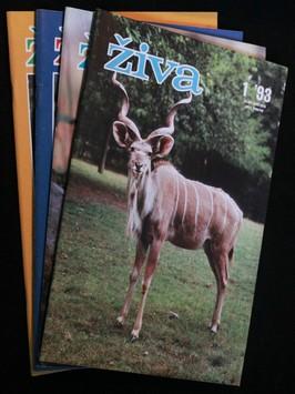 náhled knihy - Živa 1.-4. 1993