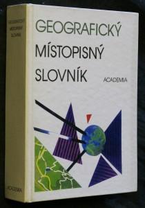 náhled knihy - Geografický místopisný slovník svět