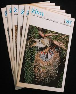 náhled knihy - Živa 1.-6. 1987