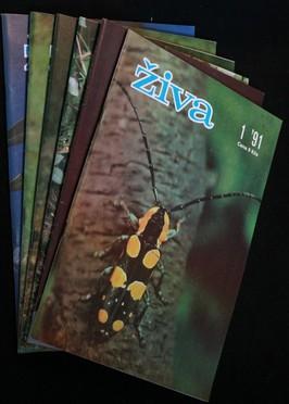 náhled knihy - Živa 1.-6. 1991