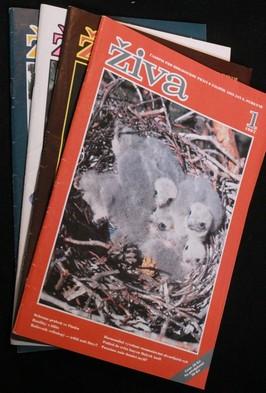 náhled knihy - Živa 1.-4. 1997