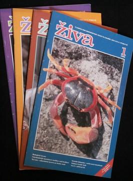 náhled knihy - Živa 1.-4. 1996