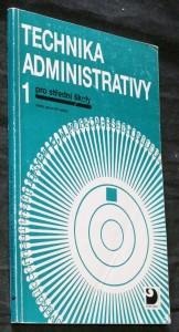 náhled knihy - Technika administrativy 1 pro střední školy