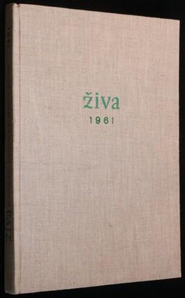 náhled knihy - Živa 1, 3, 4, 5, 6, 1961