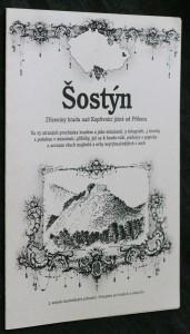 náhled knihy - Šostýn : zříceniny hradu nad Kopřivnicí jižně od Příbora