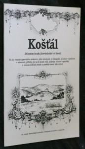 náhled knihy - Košťál : zříceniny hradu jihovýchodně od Semil