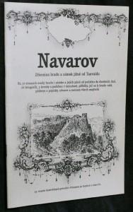 náhled knihy - Navarov : zřícenina hradu a zámek jižně od Tanvaldu