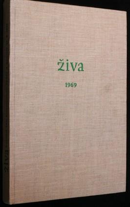 náhled knihy - Živa 1.-6. 1969
