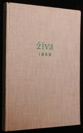 náhled knihy - Živa 1.-6. 1959