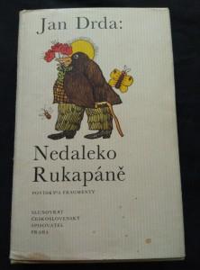 náhled knihy - Nedaleko Rukapáně - povídky (Ocpl, 320 s., il. S. Duda, typo O. Hlavsa)