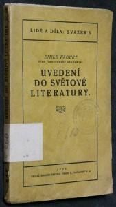 náhled knihy - Uvedení do světové literatury