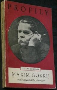 náhled knihy - Maxim Gorkij, klasik socialistického písemnictví