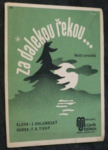 náhled knihy - Za dalekou řekou... waltz serenáda