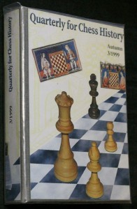 náhled knihy - Quarterly for chess history, autumn 3/1999