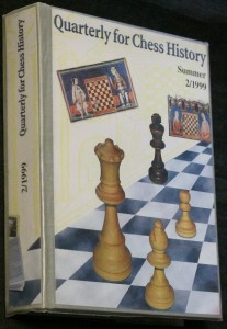 náhled knihy - Quarterly for chess history, summer 2/1999