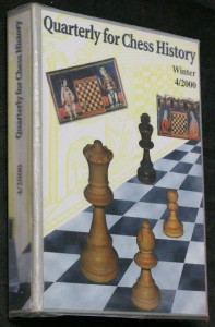 náhled knihy - Quarterly for chess history, winter 4/2000