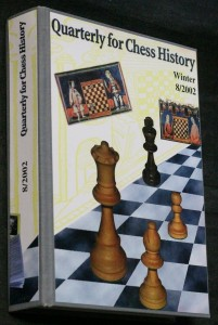 náhled knihy - Quarterly for chess history, winter 8/2002
