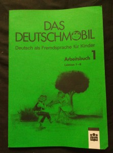 náhled knihy - Das Deutschmobil - Arbeitsbuch 1 - Lektion 1-6 (A4, Obr, 55 s.)