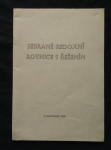 náhled knihy - Sebrané redoxní rovnice s řešením (Obr, 44 s.)