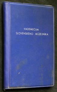 náhled knihy - Vademecum slovenského múzejníka