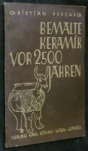 náhled knihy - Bemalte keramik vor 2500 jahren