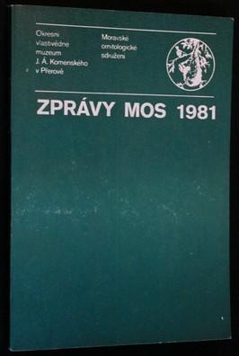 náhled knihy - Zprávy MOS 1981