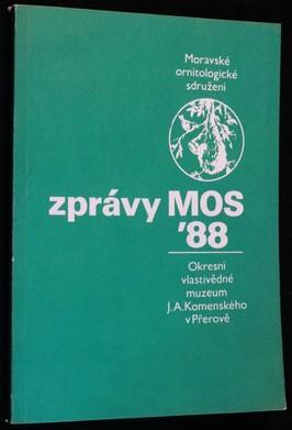 náhled knihy - Zprávy MOS 1988