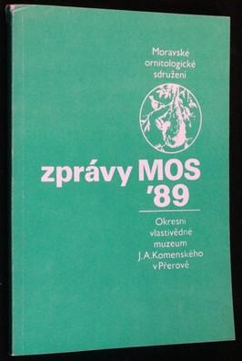 náhled knihy - Zprávy MOS 1989
