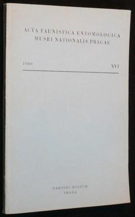náhled knihy - Acta Faunistica Entomologica Musei Nationalis Pragae XVI
