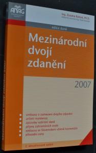 náhled knihy - Mezinárodní dvojí zdanění