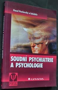 náhled knihy - Soudní psychiatrie a psychologie