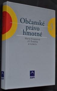 náhled knihy - Občanské právo hmotné. Svazek III.