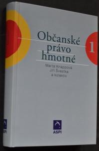 náhled knihy - Občanské právo hmotné. Svazek I.