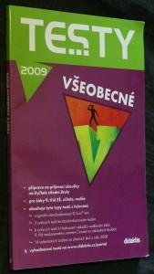 náhled knihy - Testy všeobecné 2009