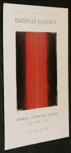 náhled knihy - Svatopluk Slovenčík obrazy, eternity, neony z let 1970-1996. 5. 11.-30. 11. 2001