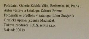 antikvární kniha Svatopluk Slovenčík obrazy, eternity, neony z let 1970-1996. 5. 11.-30. 11. 2001, neuveden