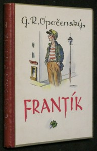 náhled knihy - Frantík : rok pražského kluka