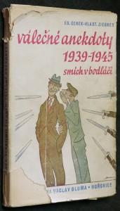 náhled knihy - Válečné anekdoty 1939-1945 : smích v bodláčí