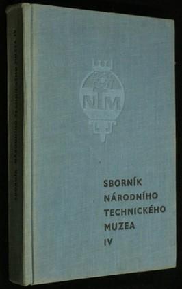 náhled knihy - Sborník Národního technického muzea. Sv. 4