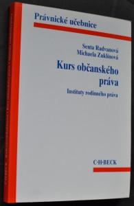 náhled knihy - Kurs občanského práva : instituty rodinného práva