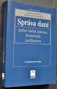 náhled knihy - Správa daní : úplné znění zákona, komentář, judikatura