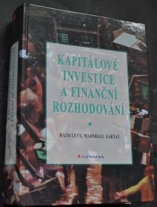 náhled knihy - Kapitálové investice a finanční rozhodování