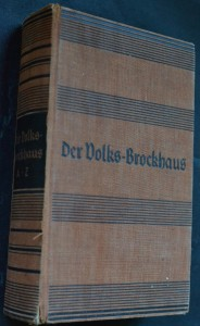 náhled knihy - Der Volks-Brockhaus
