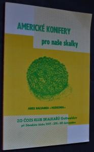 náhled knihy - Americké konifery pro naše skalky