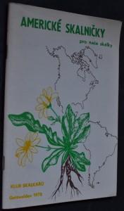 náhled knihy - Americké skalničky pro naše skalky