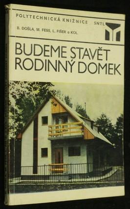 náhled knihy - Budeme stavět rodinný domek